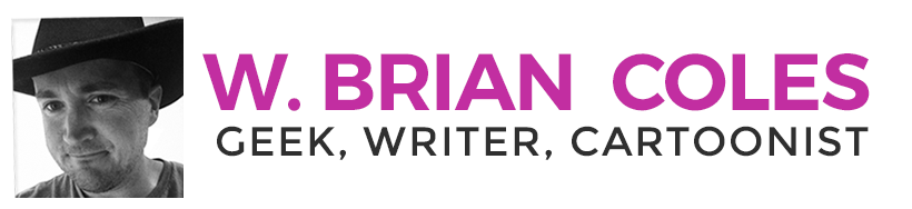 W. Brian Coles – Geek, Writer, Cartoonist Retina Logo
